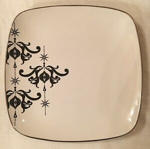 Target Home Christmas Holiday 08' Arctic Solstice Ceramic Platter Plate Exc