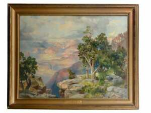 Thomas Moran(1837-1926) Original Chromolithograph