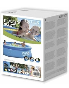 """Intex 8' x 30"""" Easy Set Pool Round Above Ground Inflatable (No Pump) SHIPS ASAP"""