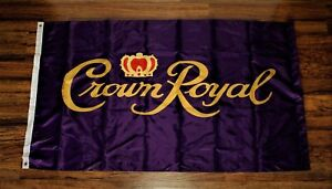 Crown Royal Banner Flag Canadian Whisky Pub Bar Advertising Sign Whiskey 3x5 New