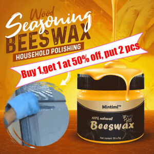 Beeswax Furniture PolishWood Seasoning Beewax Natural Wood Wax Traditional