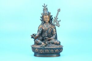 Tara statue hand carved in wood statue God Ancient sculptures Antique figurines $259.00
