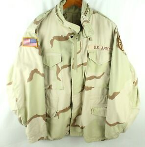 US Army Field Military Camouflage Jacket Size L