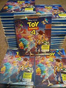 Toy Story 4 Blu ray DVD With Slipcover Disney