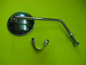 1971 Yamaha DS7 250 250cc 2 Stroke Twin Right Clamp on Mirror $32.99
