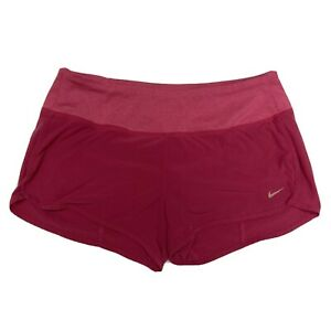 Nike Dri FIT Pink Running Shorts With Liner Women's Small $15.00
