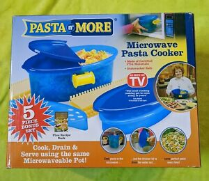 As Seen On TV Pasta N' More Microwave Pasta Cooker NEW