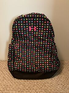 Under Armour Girls' Polka Dot Backpack Style #1277402959 $19.00