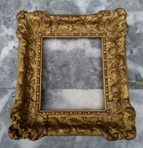Ornate Gilt Gesso Gothic Revival style Frame for Picture - Painting $78.84