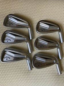 TOUR ISSUE CALLAWAY APEX PRO FORGED '14 IRONS 5 PW