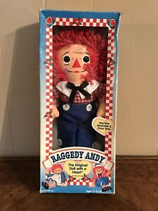 Vintage Raggedy Andy Original Doll with a Heart Johnny Gruelle Hasbro 1996 New $54.99