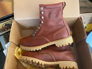 BRAND NEW Carolina Work Boots Model 679. Multiple Sizes. Brown.