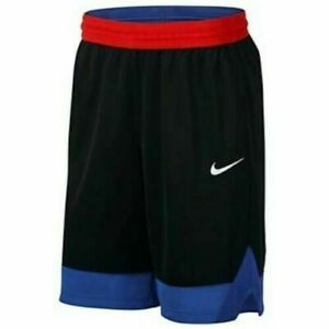 Nike Dri FIT Icon Men's basketball Athletic shorts with side pockets XXL Black $27.99