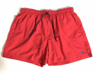 Over Under Swim Trunks Board Shorts 100% Nylon Packable Red Size XL Mens EUC $28.99