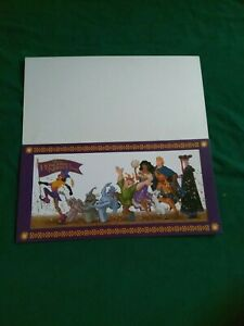 Disney Store Exclusive Lithograph Hunchback of Notre Dame 8quot;x16quot; Free Shipping $9.99