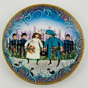 P. Buckley Moss The Young Medics Plate Joyful Children Collection 1994 Porcelain $55.99