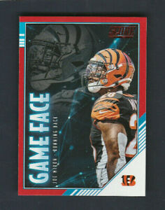 2020 Score NFL Football RED FOIL # GF JM Joe Mixon Game Face