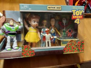 Toy Story 4 Disney Pixar Antique Shop 8 Adventure Pack Figures Buzz Woody Forky