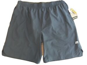 Mens Running Shorts w Attached Compression Boxer NWT $11.00