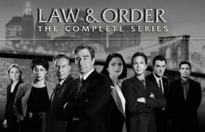 Law amp; Order The Complete Series Seasons 1 20 DVD 2011 $147.77