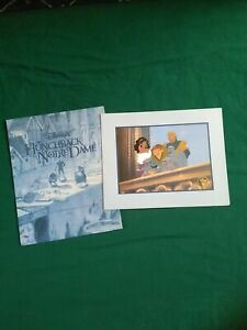Disney Store Exclusive Lithograph Hunchback Of Notre Dame 11x14 Free Ship $9.99