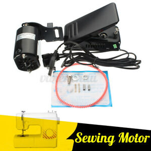 1.0 Amps Home Sewing Machine Motor Foot Control Pedal 110V 6000RPM HA1 15 66 99K $26.45