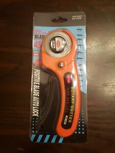 Rotary Cutter Sewing Quilters Fabric Cutting Leather Paper Tool $9.50