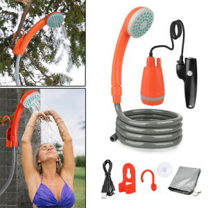 Portable Rechargeable Shower for Camping for Hiking TravelOutdoor Showerhead