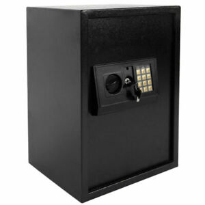 HOT Large Fire Safe Electronic Lock Box Security Steel Fireproof Home Office US $99.99