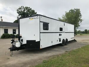 NEW 2020 8.5 X 30 14k Stealth Enclosed Trailer Toy Hauler Nomad LOADED