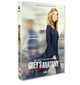 NEW Grey#x27;s Anatomy DVD sea son 16 Complete 5 Disc Set