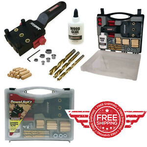 Milescraft 1309 DowelJigKit Complete Doweling Kit with Dowel Pins and Bits $24.99