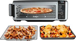 Ninja SP101 Toaster Oven with Air Fryer Stainless Steel Black