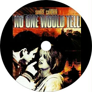 No One Would Tell 1996 Drama Crime DVD