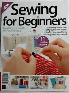 Sewing For Beginners Issue 11 Magazine New FREE SHIPPING $9.99