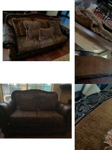 Ashley Furniture Sofa Set With Free Coffee Table $1000.00