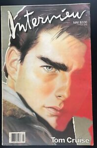 Andy Warhol INTERVIEW Mag May 1986 Tom Cruise cover Fashion $15.99