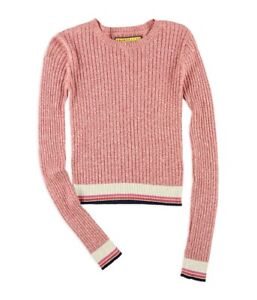 Aeropostale Womens Marled Ribbed Pullover Sweater $26.77