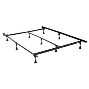 Premium Universal Bed Frame Easy no Tools Assembly with Locking Mechanism