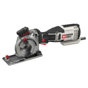 Porter Cable PCE380KR 5.5 A 3 1 2quot; Multi Material Saw Kit Certified Refurbished $62.99