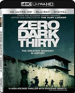 Zero Dark Thirty 4k Blu ray digital New Free Shipping $9.98