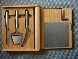Legacy Cheese Bamboo Cutting Board Set With Cheese Tools