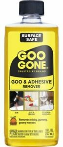 Goo Gone 8oz Citrus Solvent Cleaner Removes Stickers Tape Oil Gum Tar NEW