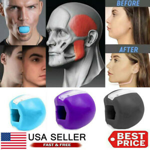 Jawline Exerciser Jawlineme Exercise Fitness Ball Neck Face Jawzrsize Jaw US $9.99