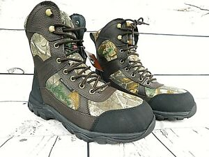 HERMAN SURVIVORS MEN#x27;S Size 7 HUNTING BOOTS CAMO WATERPROOF THINSULATE New W Box