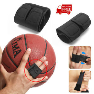Outdoor 1PC Sports Finger Protection Double Finger Splint Joint Support Brace $3.56