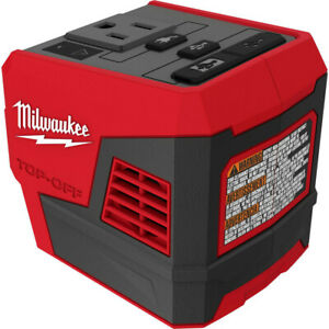 Milwaukee 2846 20 M18 TOP OFF Li Ion 175W Power Supply Inverter Tool Only New $99.00