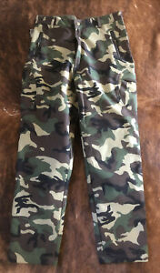 TAD Gear Pants Soft Shell Camouflage Outdoor Waterproof Hunting Women#x27;s Sz L New