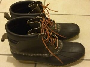 LL Bean Duck Hunting Boots Men#x27;s 13 M Made in U.S.A.