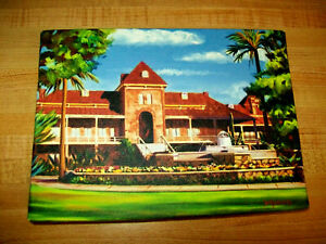 DIANA MADARAS PICTURE PRINT LITHOGRAPH OF U OF ARIZONA OLD MAIN BUILDING $29.99